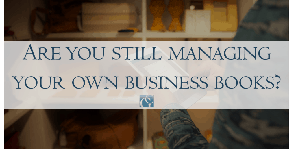are you still managing your own business books