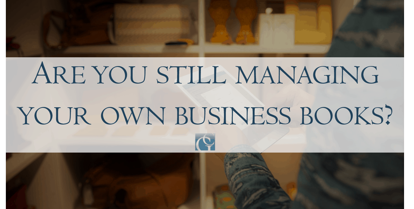 Are you still managing your own small business books?