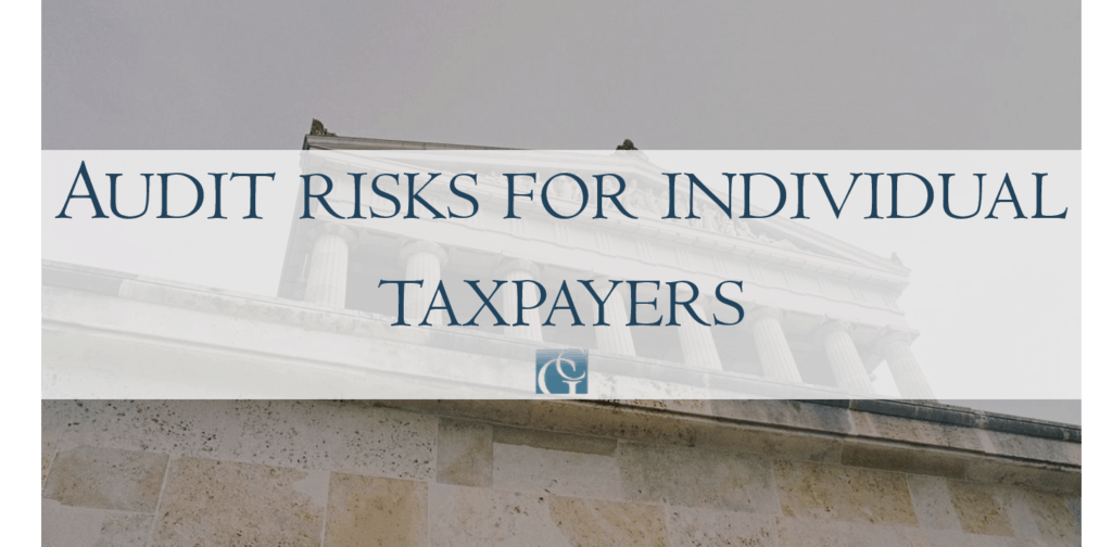 Audit risks for individual taxpayers