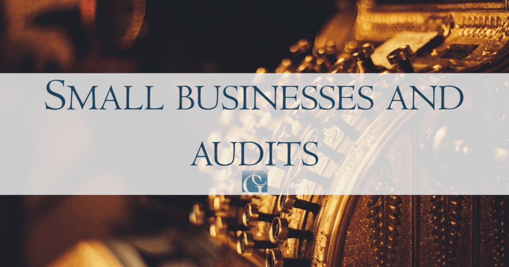 small businesses and audits