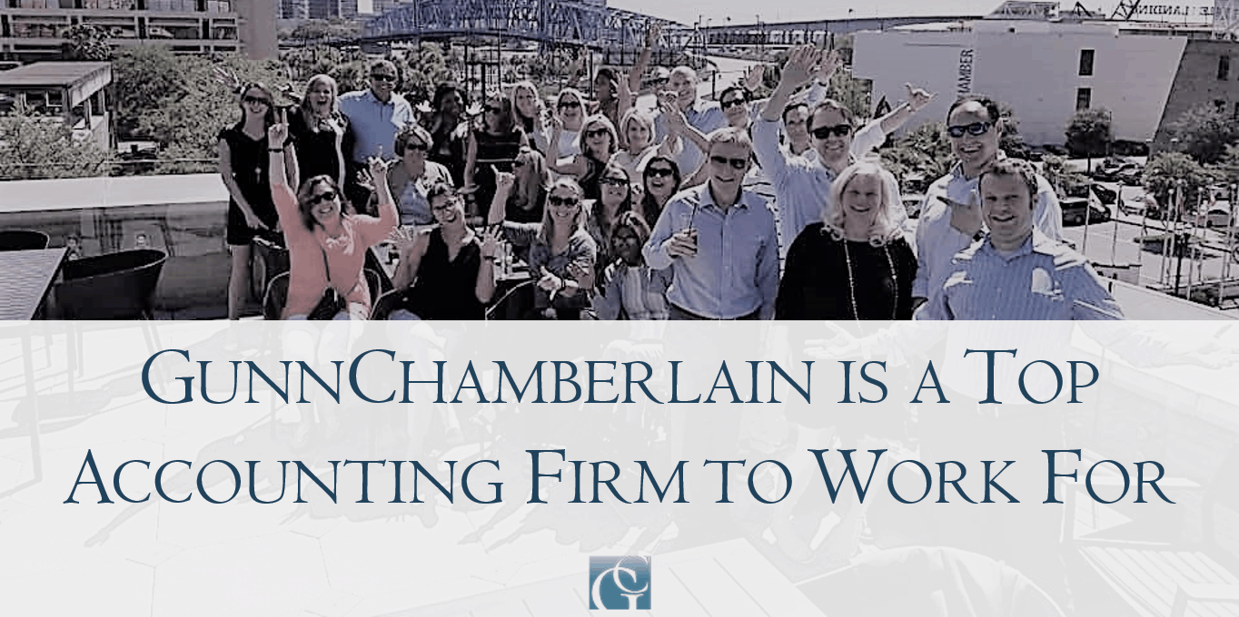 GunnChamberlain is a Best Firm to Work For by Accounting Today