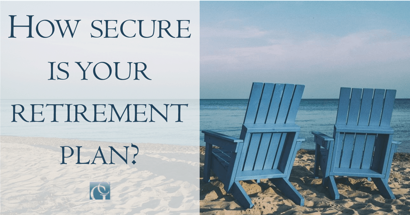 How secure is your retirement plan?